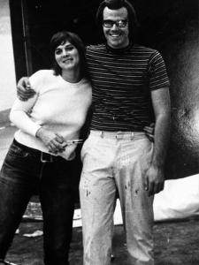 Dave & wife Cindy - CalArts 1972